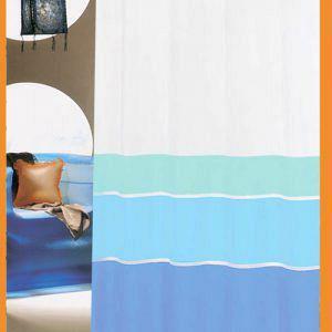 Κουρτίνα Μπάνιου Πλαστική SAN BATH LORENTZΟ BLUE STRIPES