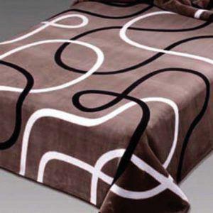 Κουβέρτα Ημίδιπλη Βελουτέ BELPLA 241 BEIGE