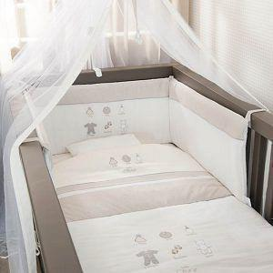 Σετ Κούνιας 3ΤΜΧ BABY OLIVER 610 LITTLE THINGS