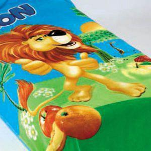 Κουβέρτα Παιδική Ημίδιπλη Βελουτέ BELPLA 218 BLUE