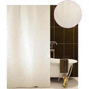 Κουρτίνα Μπάνιου Υφασμάτινη 180X180 SAN BATH LORENTZO  LUXOR ECRU