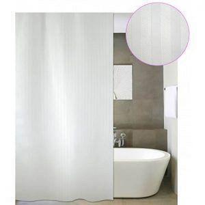 Κουρτίνα Μπάνιου Υφασμάτινη 180X180 SAN BATH LORENTZO  LUXOR WHITE