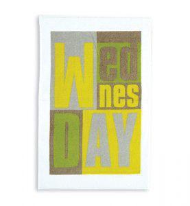 Πετσέτα Κουζίνας Βελουτέ NEF NEF WEDNESDAY