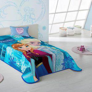 Κουβέρτα Παιδική Βελουτέ 160X220 DISNEY FROZEN