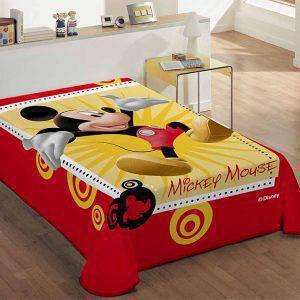 Κουβέρτα Παιδική Βελουτέ 160X220 DISNEY MICKEY