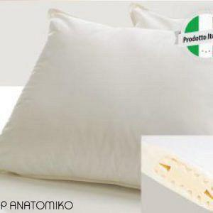 Μαξιλάρι Ύπνου Top Anatomiko PALAMAIKI WHITE COMFORT