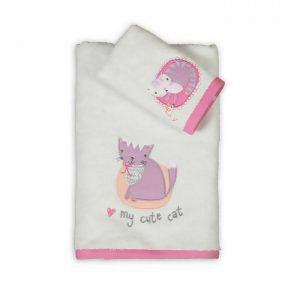 Σετ Πετσέτες Παιδικές 2TMX NEF NEF JUNIOR COLLECTION COOL CAT