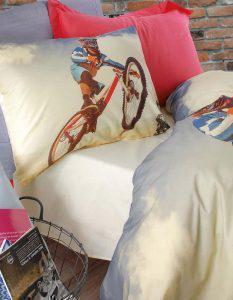 Σετ Κουβερλί Μονό 155X230 RYTHMOS BICYCLE