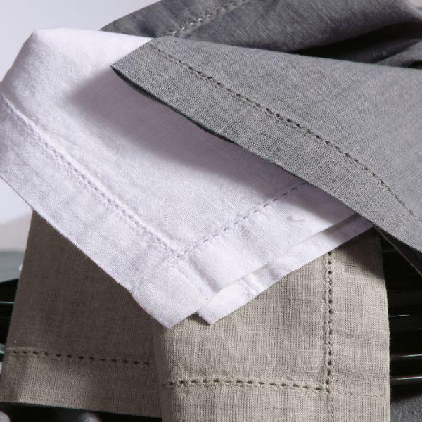 Nef Nef Τραπεζομαντηλο Cotton-linen 150x300 WHITE