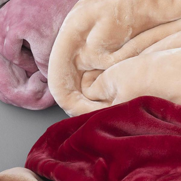 Palamaiki Κουβερτα Υπερδιπλη 220x240 Dream Velour Pink Dream Vellour