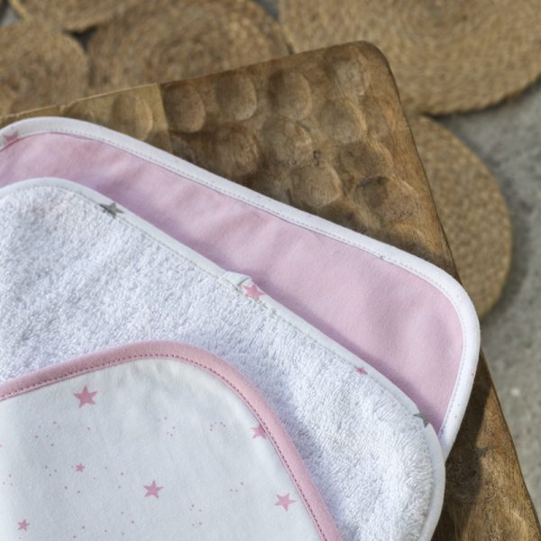 Nima Σετ Πετσέτες 3 x 30x30 Astral - Pink
