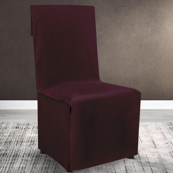 Lino Home Καλυμμα Καρέκλας Καρέκλας 112 Renas Grape
