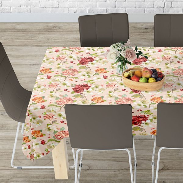 Lino Home Τραπεζομαντηλο 140x140 301 Campari Pink