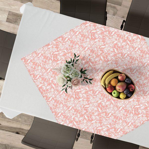 Lino Home Καρε 90x90 301 Izal Pink