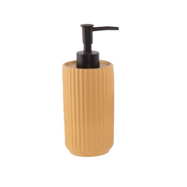 Nef Nef Δοχείο Κρεμοσάπουνου 7,3x19,5 Ακρυλικό Venice Mustard