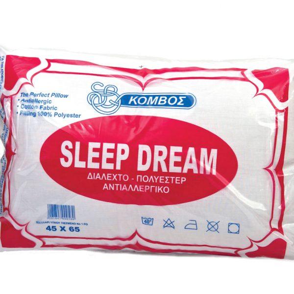 Μαξιλάρι Ύπνου ΚΟΜΒΟΣ Standard Line 50x70 550gr